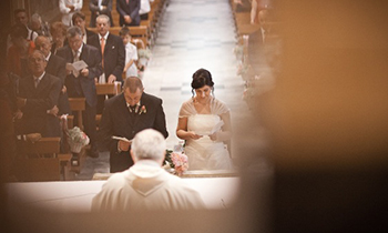 Catholic Ceremonies Are Celebrated Only In A Church You Can Have Either With Civil Wedding Or The Religious Ceremony